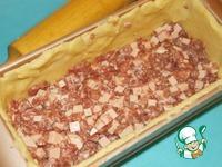 Паштет мясной слоеный в тесте Филе куриное