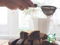 Банановый брауни с кофе и фундуком ингредиенты