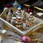 """Новогоднее печенье """"Осиные гнезда"""""""