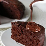 Шоколадный фондан с тыквой