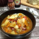 Суп с фасолью и макаронными изделиями