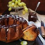 Медово-виноградный кекс