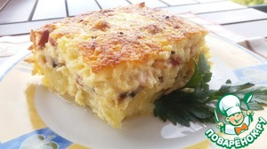Рецепт: Суфле картофельное