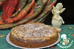 Рецепт: Яблочный пирог с финиками