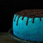 Торт с двумя видами крема