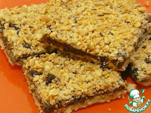 Ореховое печенье с шоколадным кремом