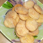 Самое простое песочное печенье