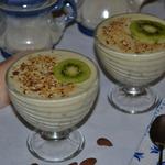 Творожный десерт «Киви-крем»