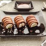 Десертные роллы с фруктами