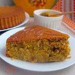 Тыквенный пирог с медом и орехами