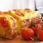 Сырный кукурузный хлеб с базиликом