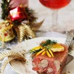 Куриная печень в грейпфрутовом желе