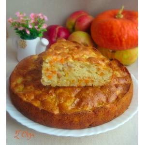Тыквенно яблочный пирог рецепт