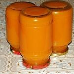 Тыквенно-цитрусовый сок на зиму