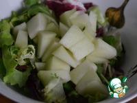 """Салат с куриным филе """"Простой"""" ингредиенты"""