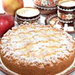 """Пирог с яблоками """"Нежный"""""""