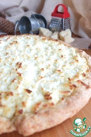 Лепешка с адыгейским сыром
