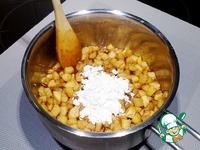 Быстрая яблочно-сливочная начинка для пирогов ингредиенты