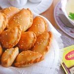 Закусочные мини-пирожки к бульонам