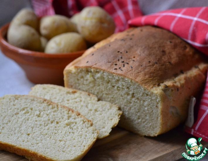 Рецепт: Белый картофельный хлеб