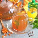 Облепиховый чай с мятой и гвоздикой