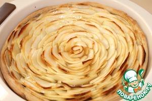 Рецепт: Яблочный пирог с карамелью