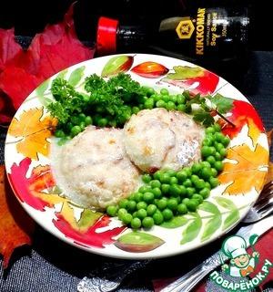 Рецепт: Котлеты рыбные с творогом и сыром
