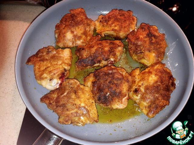 курица в муке рецепт