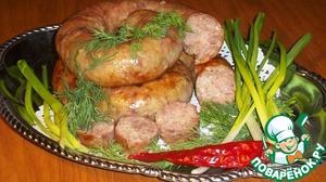 Рецепт: Простая домашняя колбаса из индейки