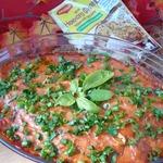 Куриная грудка в томатном соусе
