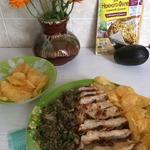 Закуска из авокадо и курицы