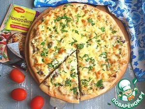 """Рецепт: Пицца """"Жюльен"""""""