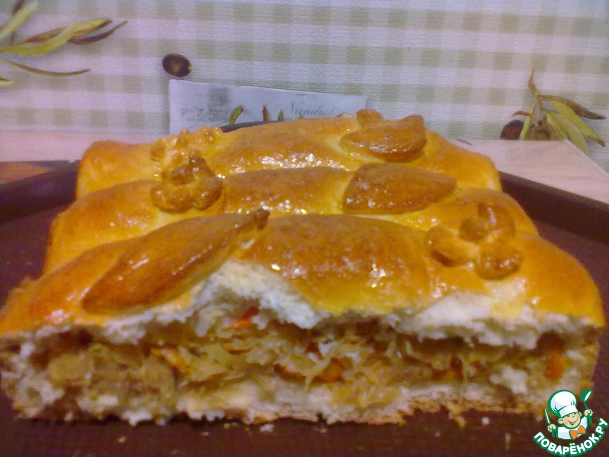 Пирог с капустой (более 100 рецептов с фото) - рецепты с