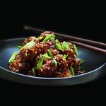 Цветная капуста в липком китайском соусе