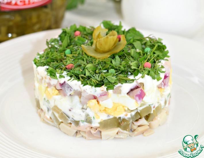 Рецепт: Салат Кальмар