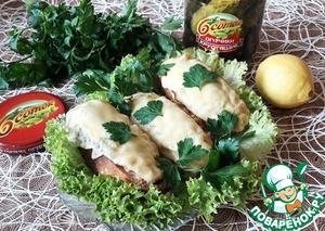Рецепт: Горячие бутерброды «Из детства»