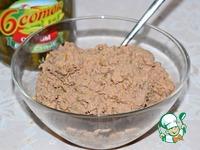 Пирожки с куриной печенью и картофелем ингредиенты