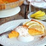 Тыквенно-лимонный пирог