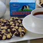 Шоколадно-цитрусовое печенье