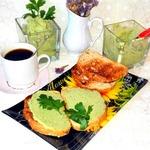 Паштет-намазка из яиц и авокадо