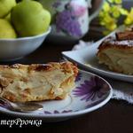 """Яблочный пирог """"Невидимый"""""""
