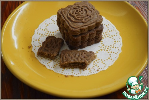 """Песочное печенье """"Шоколадное"""""""