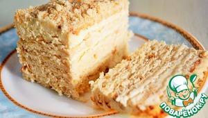 Торт золотая рыбка рецепт с фото