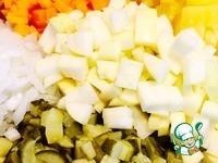 Салат из отварной рыбы ингредиенты
