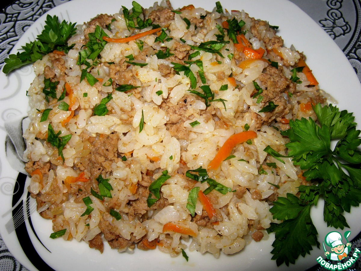Рис по флотски рецепт