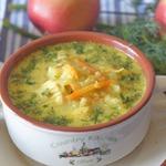 Куриный суп с яблоками