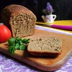 """Гречнево-конопляный хлеб """"К завтраку"""""""
