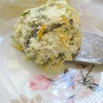 Минтай в сливочно-овощном соусе
