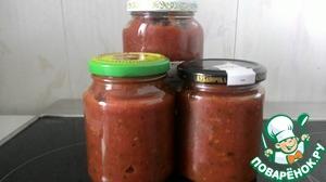 Кетчуп из печеных томатов
