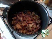 Овсяные блинчики с жареными маслятами ингредиенты